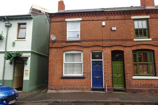 Thumbnail End terrace house to rent in Bank Street, Walsall, West Midlands