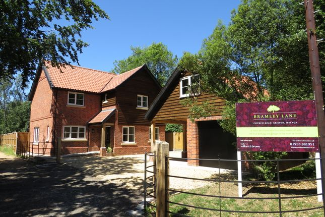 Thumbnail Detached house for sale in Bramley Lane, Griston, Thetford