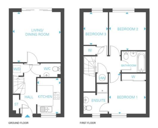 Thumbnail Terraced house for sale in Mosley Common, Bridgewater View, Mosley Common Rd, Tyldesley, Manchester