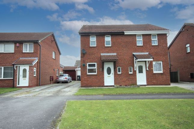 Thumbnail Semi-detached house for sale in Greenhow Close, Hull