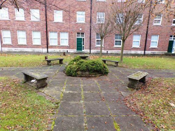 Communal Gardens of Vale Lodge, Rice Lane, Liverpool, Merseyside L9