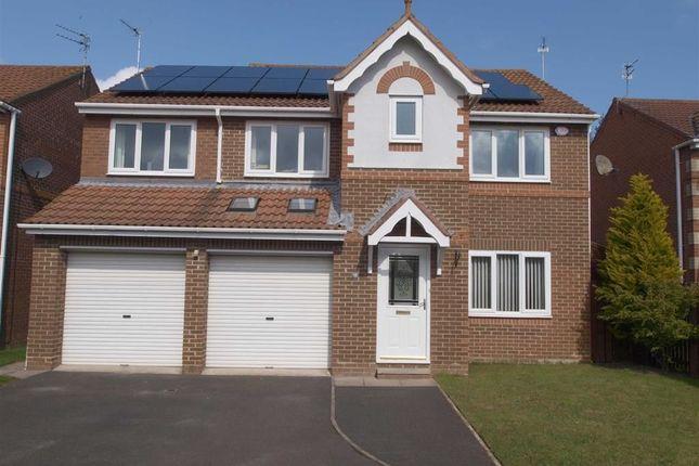 Thumbnail Detached house for sale in Fern Avenue, Cramlington