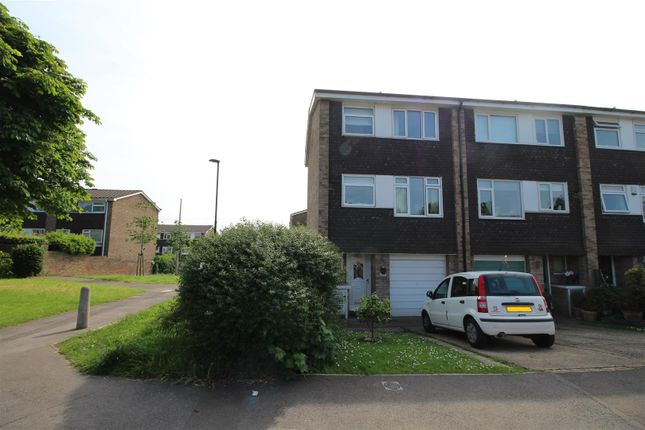 Thumbnail End terrace house for sale in Leafield Close, London