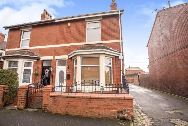 Thumbnail Semi-detached house for sale in Chaucer Road, Fleetwood, Lancashire, .