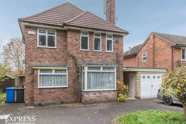 Thumbnail Detached house for sale in Main Avenue, Allestree, Derby
