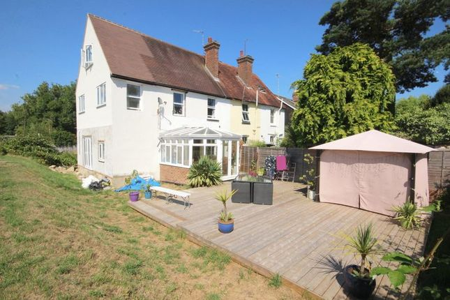 Thumbnail Terraced house for sale in Katherine Road, Edenbridge