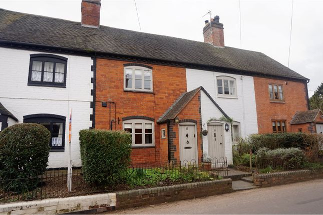 Thumbnail Cottage for sale in Church Street, Whittington, Lichfield