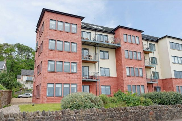 Thumbnail Flat for sale in The Shores, Skelmorlie, North Ayrshire