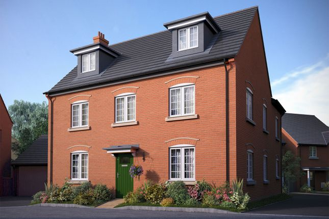 """Thumbnail Detached house for sale in """"The Milton"""" at Bedford Road, Great Barford, Bedford"""