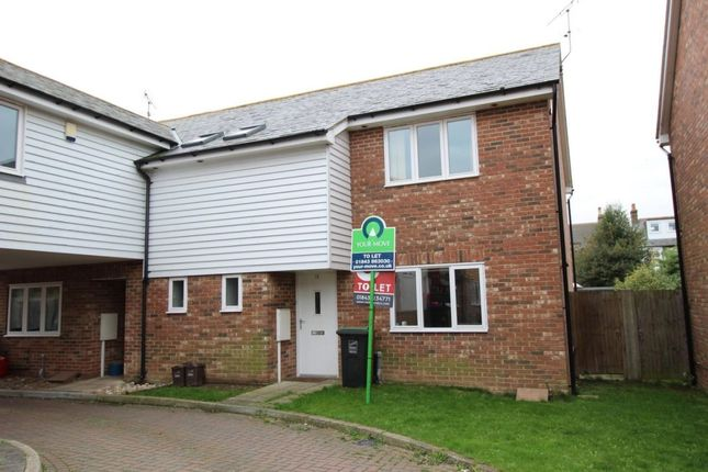 Thumbnail Semi-detached house to rent in Parish Close, Broadstairs