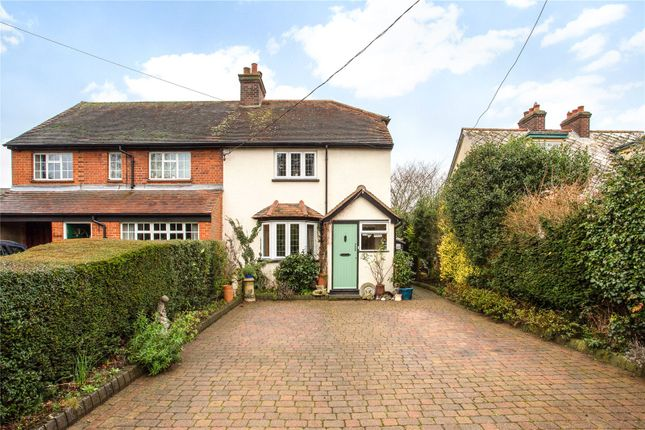 Semi-detached house for sale in The Street, High Ongar, Ongar, Essex
