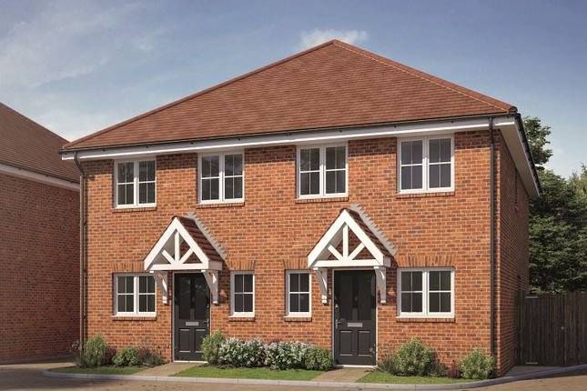 Thumbnail Semi-detached house for sale in Walshes Road, Crowborough