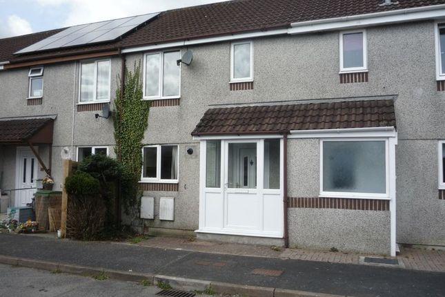 Thumbnail Terraced house to rent in Herring Close, Liskeard