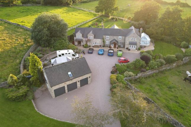 Thumbnail Detached house for sale in Yew Tree Lodge, New Road, Alderwasley, Derbyshire