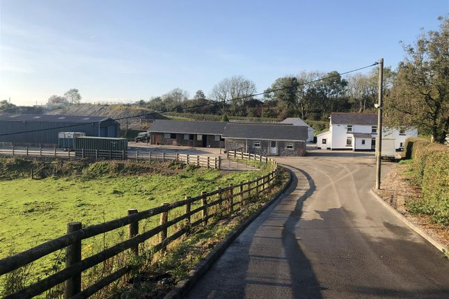 Thumbnail Farm for sale in Maesybont, Llanelli