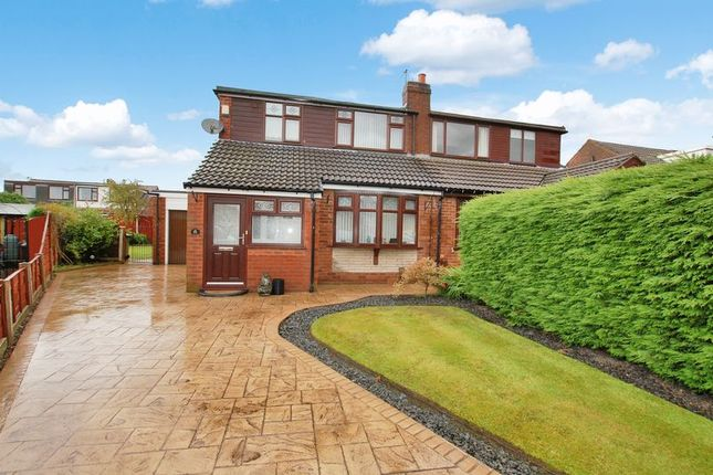 Thumbnail Semi-detached bungalow for sale in Trent Way, Kearsley, Bolton