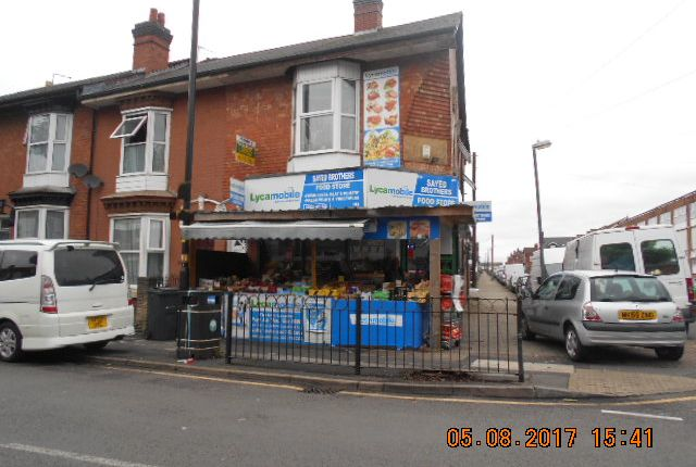 Thumbnail Retail premises for sale in Walford Road, Sparkhill