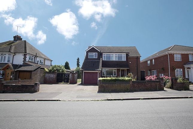 Thumbnail Detached house for sale in Graham Gardens, Luton