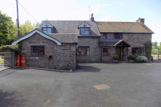 Thumbnail Detached house for sale in Blackshaw Moor, Leek, Staffordshire