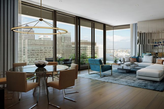 Thumbnail Flat for sale in Wardian, East Tower, London