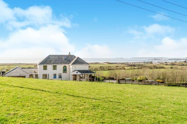 Thumbnail Detached house for sale in Abererch, Pwllheli, Gwynedd, .