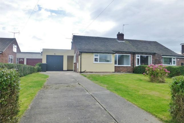 Thumbnail Semi-detached bungalow for sale in Woodland Way, Huntington, York