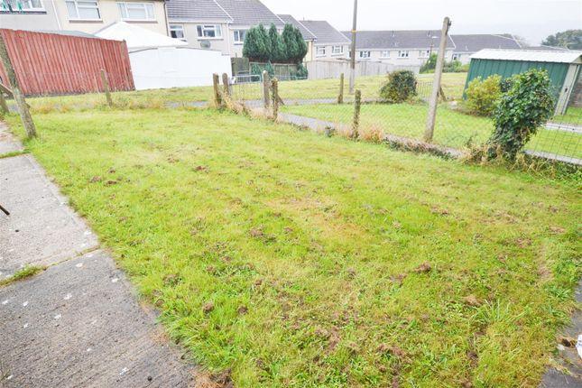 Back Garden of Strongbow Walk, Pembroke SA71