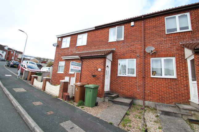 Thumbnail Terraced house to rent in Coombe Way, Plymouth