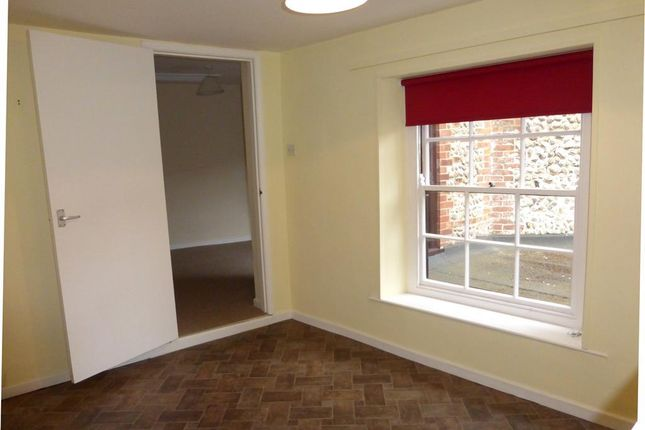 Thumbnail Flat to rent in High Street, Holt