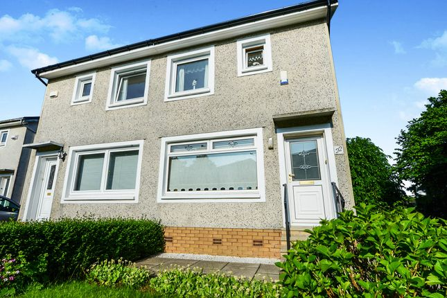 Thumbnail Semi-detached house for sale in Groveburn Avenue, Thornliebank, Glasgow