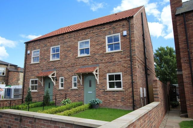 Thumbnail Semi-detached house for sale in Wheatsheaf Court, Hambleton, Selby