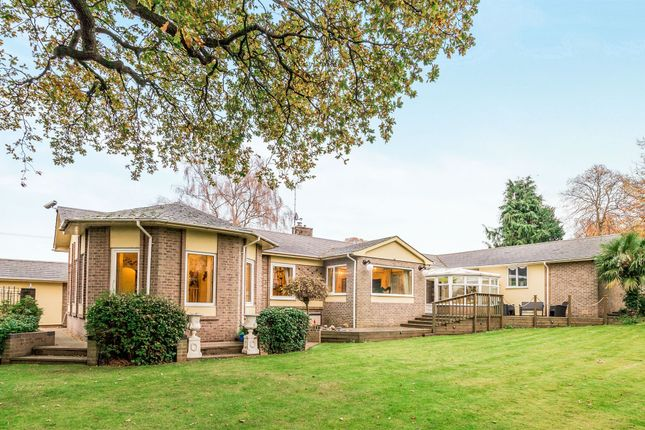 Thumbnail Detached bungalow for sale in Netherstowe, Lichfield