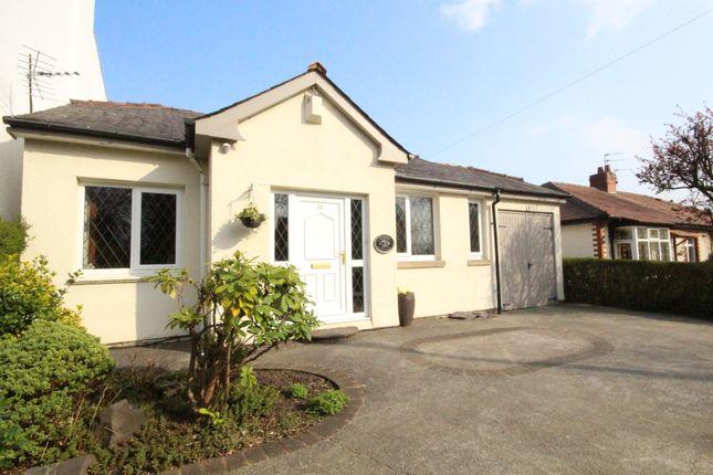Thumbnail Detached bungalow for sale in Manor Lane, Penwortham, Preston