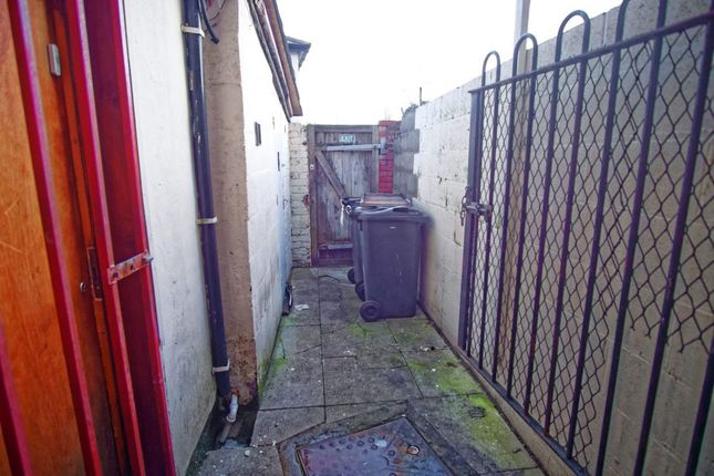 Rear Yard of New Hall Lane, Preston PR1