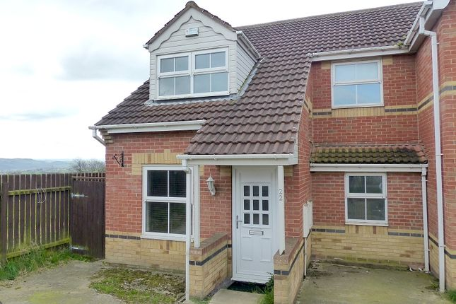 Thumbnail Semi-detached house for sale in Piperwell Close, Heckmondwike, West Yorkshire.