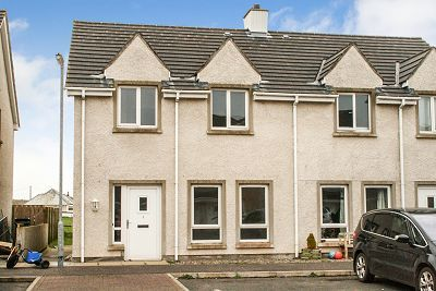 Thumbnail Semi-detached house for sale in 6 Luce Bay Avenue, Sandhead, Stranraer