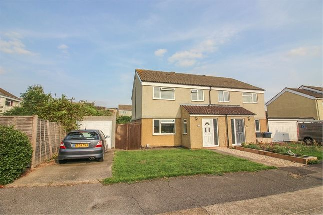 Thumbnail Semi-detached house for sale in Monksbury, Harlow, Essex