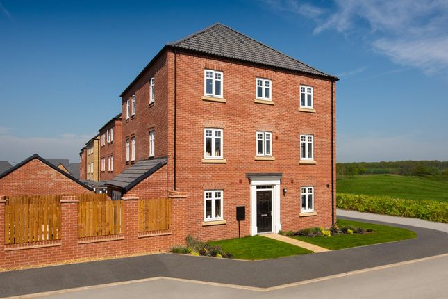 """Thumbnail End terrace house for sale in """"Drayton"""" at Mount Street, Barrowby Road, Grantham"""