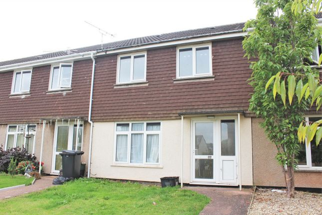 Thumbnail Terraced house to rent in Lillebonne Close, Wellington