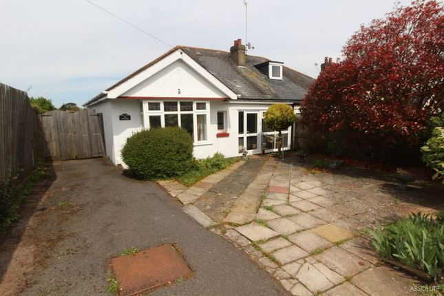 Thumbnail Semi-detached bungalow for sale in Marldon Road, Torquay