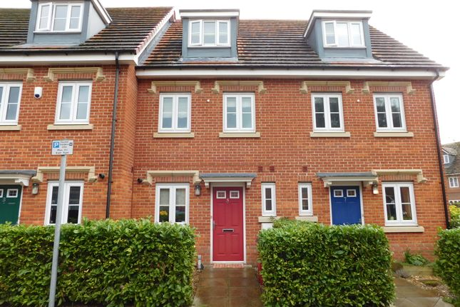 Thumbnail Terraced house for sale in Huxley Close, Slough
