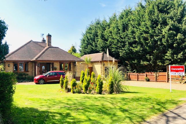 Thumbnail Detached bungalow for sale in Burbage Road, Burbage, Hinckley