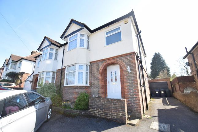 Thumbnail Semi-detached house to rent in Eaton Avenue, High Wycombe, Bucks