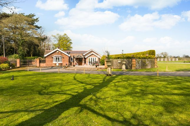 Thumbnail Detached bungalow for sale in Cobblers Cross Road, Tarporley