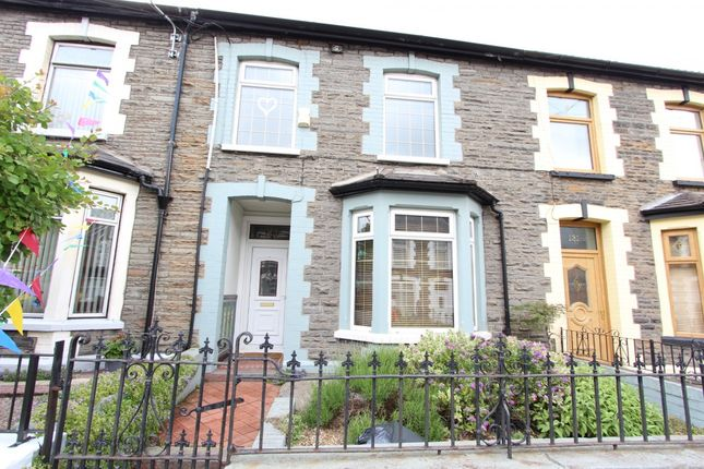 Thumbnail Detached house for sale in Aberhondda Road, Porth -, Porth