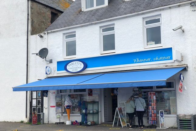Thumbnail Retail premises for sale in Parlett'S Convenience Store, 1 Shore Street, Ullapool