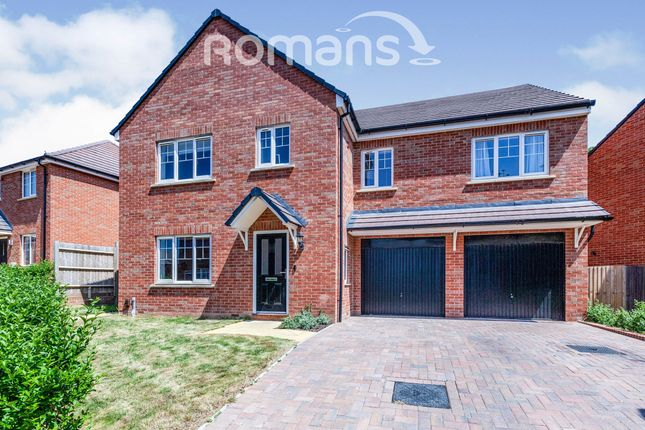 Thumbnail Detached house to rent in Whitebeam Chase, Maidenhead