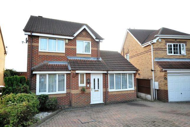 Thumbnail Detached house for sale in Craythorne Close, Newhall, Swadlincote