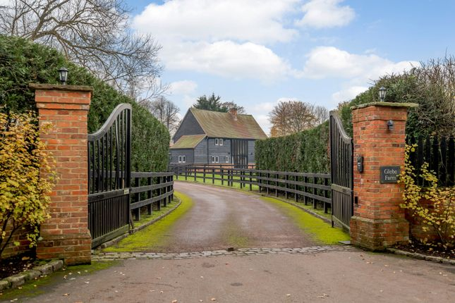 Thumbnail Equestrian property for sale in Glebe Farm, Hungerford Lane, Shurlock Row, Berkshire