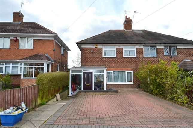 Thumbnail Semi-detached house to rent in Jervoise Road, California, Birmingham, West Midlands